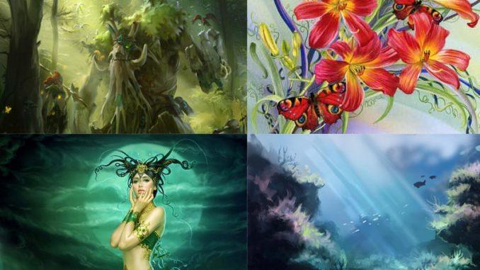 รวมภาพวาดแกลลอรี่ธรรมชาติ